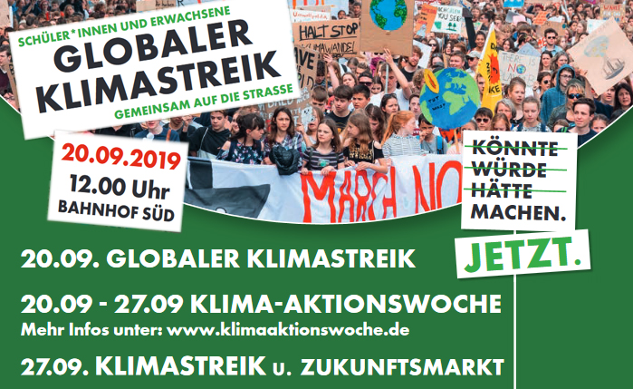 Klimaaktionswoche in Oldenburg